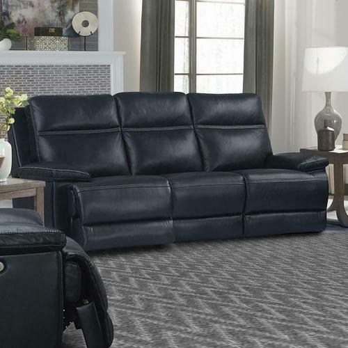 Parker House - PAXTON - NAVY Power Sofa
