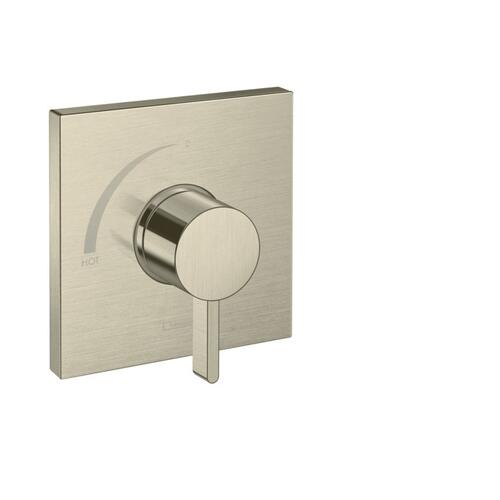 Brushed Nickel Pressure Balance Trim