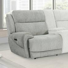 View Product - SPENCER - TIDE PEBBLE Power Left Arm Facing Recliner