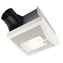 Flex Series 70 CFM Ceiling Roomside Installation Bathroom Exhaust Fan with Light