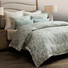 7pc Queen Duvet Set Spa