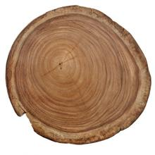 """View Product - Natural Guanacaste 22"""" Round Accent Table Top"""