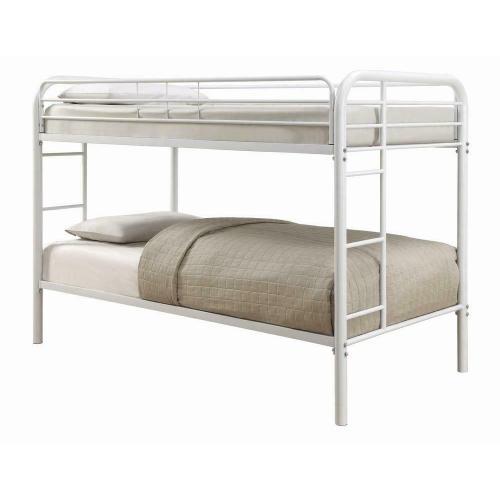 Coaster - Morgan White Twin Bunk Bed
