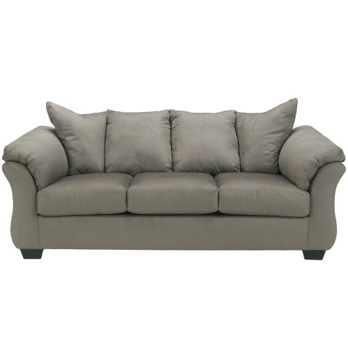 Signature Design by Ashley Darcy Sofa in Cobblestone Microfiber