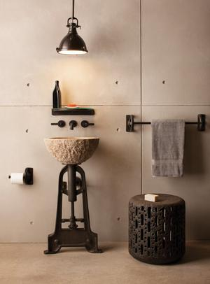 Oval Sink Beige Granite Product Image