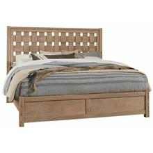 Queen - Basket Weave Bed