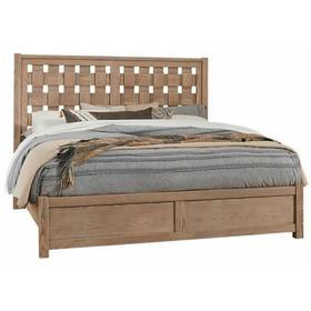 Queen - Basket Weave Bed
