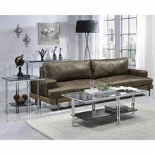 ACME Liddell Coffee Table - 83925 - Chrome & Glass