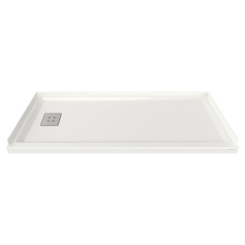 American Standard - Studio 60x30-inch Acrylic Shower Base - Left Side Drain  American Standard - White