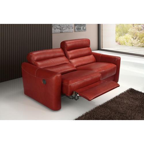 VIG Furniture - Estro Salotti Levante Modern Red Leather Sofa Set