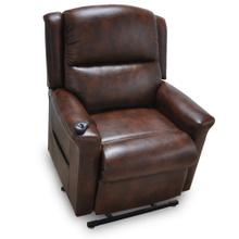 Province - 3 Way Chaise Lift & Recline w/Power Lumber Support & Magazine Pouch - Malone
