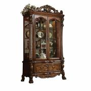 ACME Dresden Curio Cabinet - 12158 - Cherry Oak Product Image