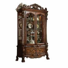 ACME Dresden Curio Cabinet - 12158 - Cherry Oak