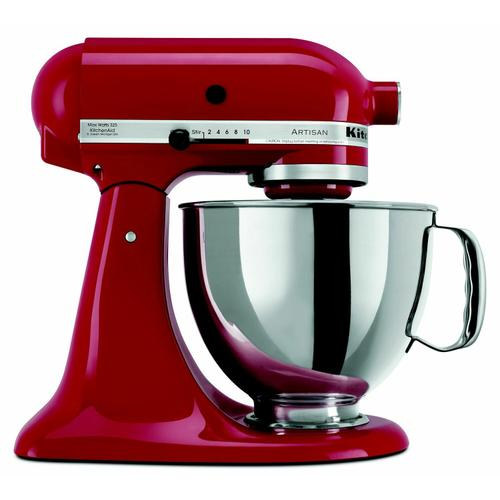 Gallery - Value Bundle Artisan® Series 5 Quart Tilt-Head Stand Mixer with additional 3 Quart bowl - Empire Red