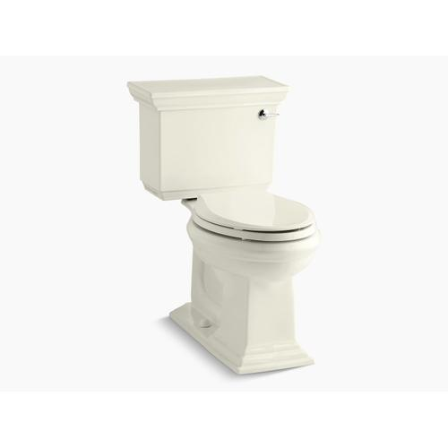 Biscuit Two-piece Elongated 1.28 Gpf Chair Height Toilet With Right-hand Trip Lever