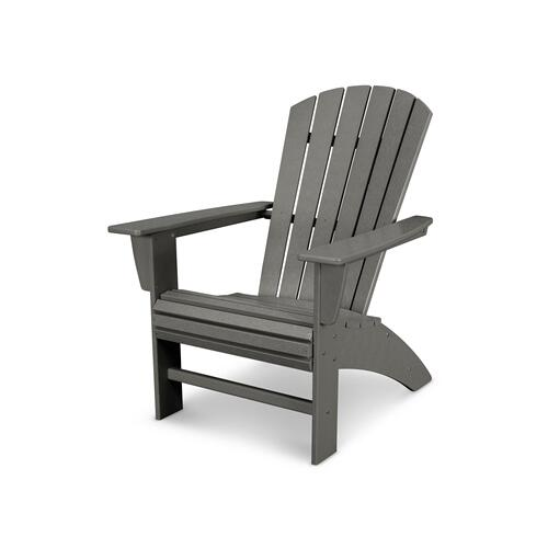 Teak Nautical Curveback Adirondack Chair