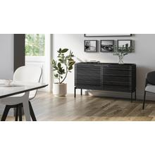 View Product - Corridor SV 7128 Storage Cabinet in Charcoal Stained Ash