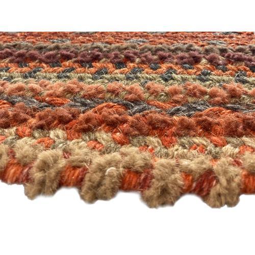 Bayview Cinnabar Braided Rugs
