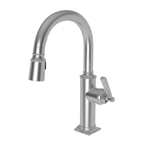 Newport Brass - Stainless Steel - PVD Prep/Bar Pull Down Faucet