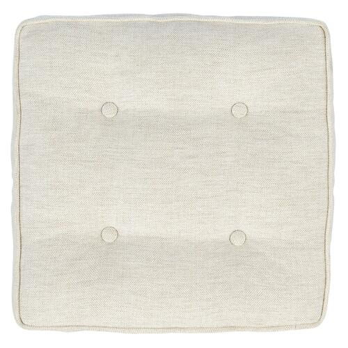 MARQ Accents 16in. Square Boxed Pillow with Buttons