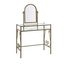 See Details - Clarisse Vanity Antique Gold