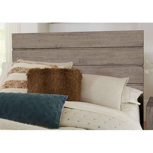 Canted Plank Storage Bed