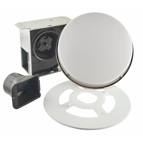 Broan® 110 CFM Decorative Bathroom Exhaust Fan with LED Light in Brushed Nickel, ENERGY STAR® **COMING SOON**