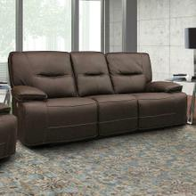 See Details - SPARTACUS - CHOCOLATE Power Sofa