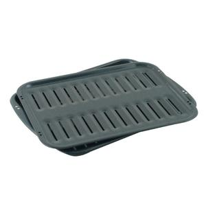 Premium Broiler Pan and Roasting Rack -