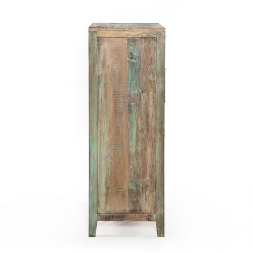 """Ibiza 32"""" Wide Reclaimed Wood Tall Chest"""