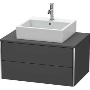 Vanity Unit For Console Wall-mounted, Graphite Matte (decor)