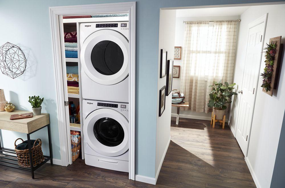 7.4 cu. ft. Front Load Electric Dryer with Intuitive Touch Controls Photo #5