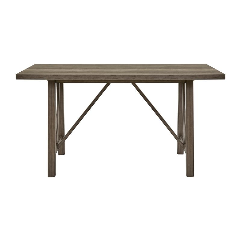 Ashland Trestle Gthring Table Top & Base