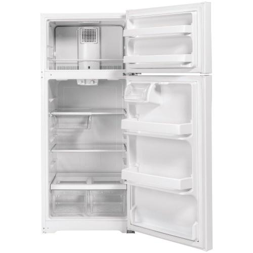 GE® ENERGY STAR® 16.6 Cu. Ft. Top-Freezer Refrigerator
