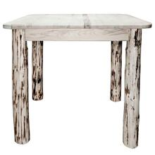 Montana Collection Square 4 Post Dining Table