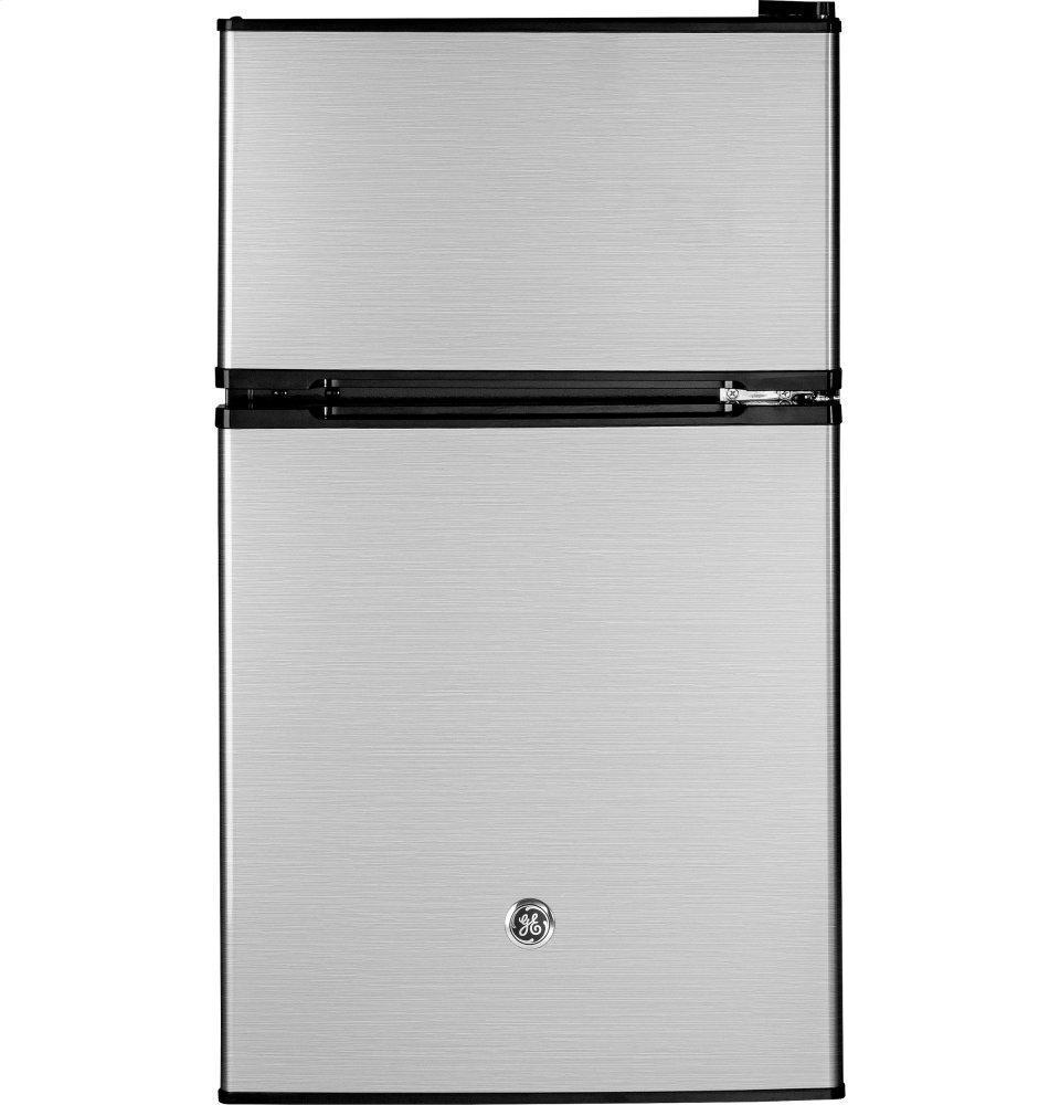 GEGe® Double-Door Compact Refrigerator