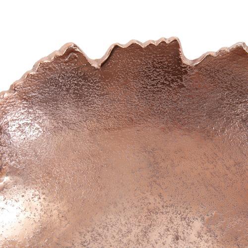 Howard Elliott - Copper Broken Edge Bowl / Wall Art