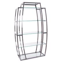 Black Nickel Stainless Steel Etagere