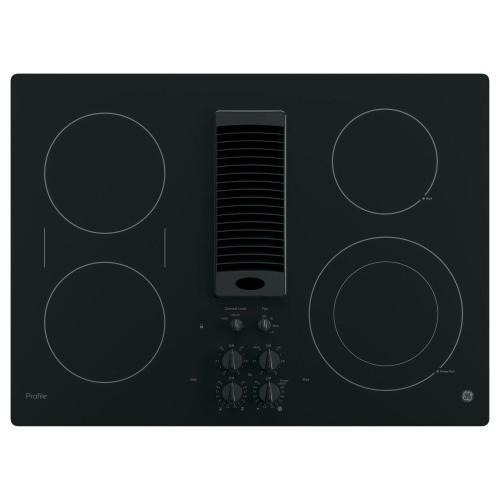"GE Profile - GE Profile™ 30"" Downdraft Electric Cooktop"