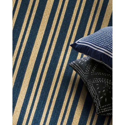 "LM-Blue Stripe Navy - Vertical Stripe Rectangle - 20"" x 30"""