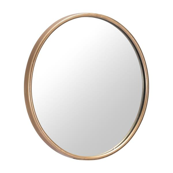 See Details - Large Ogee Mirror Gold