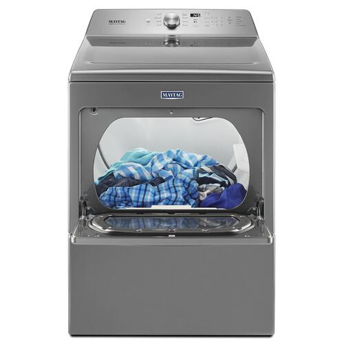 Large Capacity Gas Dryer with IntelliDry® Sensor - 7.4 cu. ft. Metallic Slate