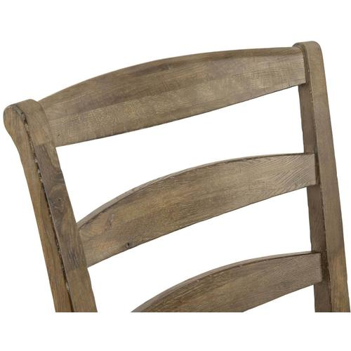 Gallery - Rustic Patina Ladderback Side Chair in Peppercorn (387)