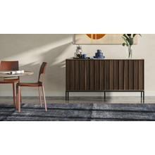 See Details - Cosmo 5729 Storage Console in Toasted Walnut