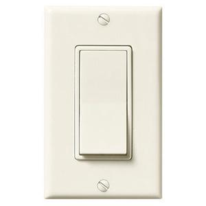 Single-Function Control, Ivory, 20 amps., 120V