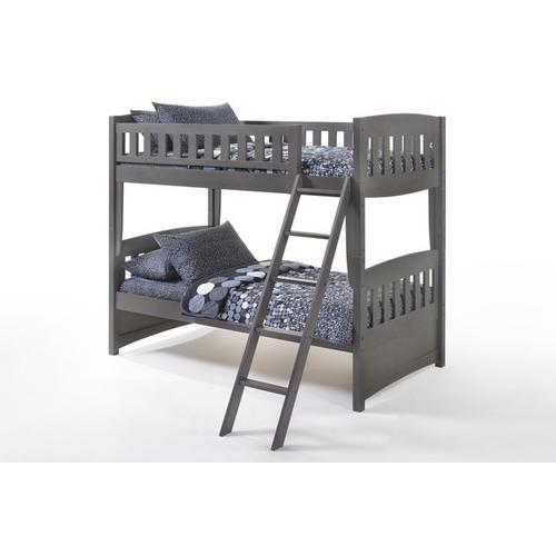 Night and Day Furniture - Cinnamon Twin Twin in Stonewash Finish