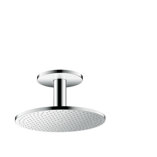 Chrome Overhead shower 300 1jet with ceiling connection