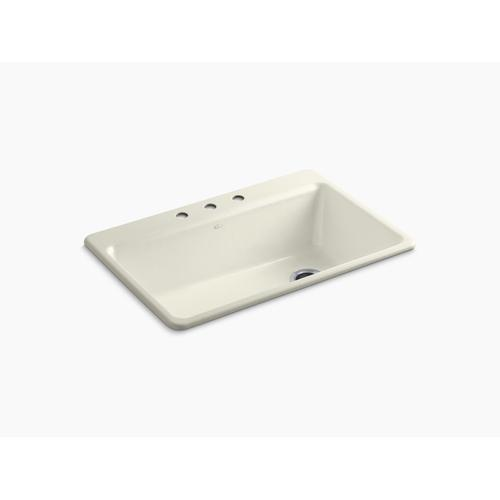 """Biscuit 33"""" X 22"""" X 9-5/8"""" Top-mount Single-bowl Workstation Kitchen Sink With Accessories"""