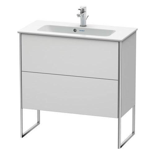 Duravit - Vanity Unit Floorstanding Compact, White Satin Matte (lacquer)
