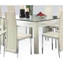 View Product - Riggan Cream Dining Table